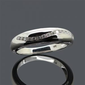 Stunning Diamond Wedding Band