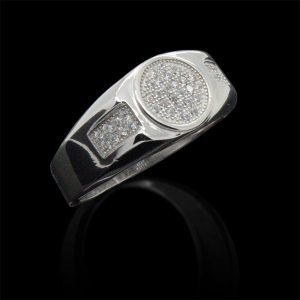 Elegant Men?S Signet Ring