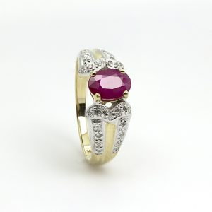 Magnificent Ruby Ring