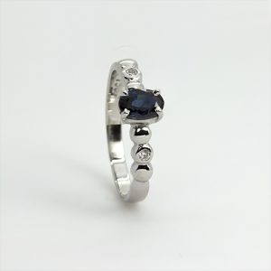 Victorian Oval Sapphire Ring