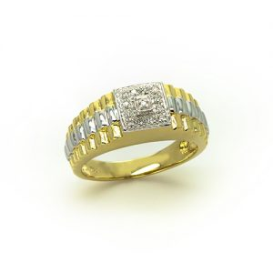 A Magnificent Men's Diamond Ring