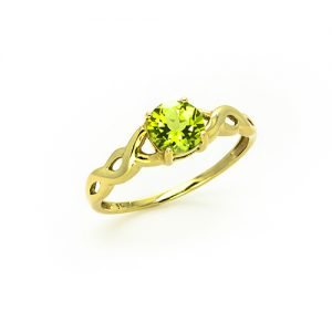 A Splendid Peridot Ring