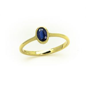 The Profound Sapphire Ring