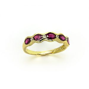 The Oval Ruby Band