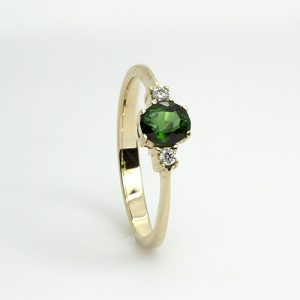 The Stunning Tsavorite Ring