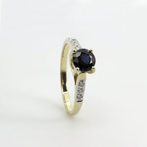 The Blue Sapphire Ring