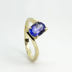 The Oval Tanzanite Engagement Ring