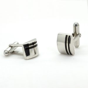 Curved Cuff Links