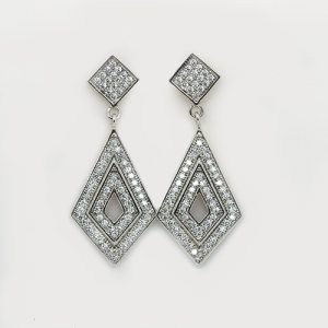 The Diamante Bridal Earrings