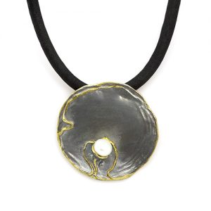 Black Oyster Bay Pearl Necklace