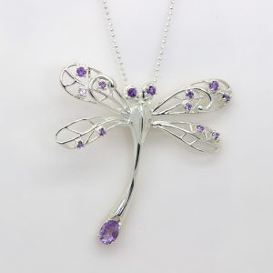 A Stunning Large Dragonfly Necklace