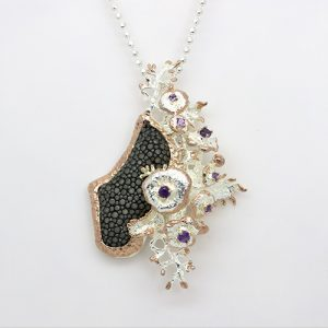 An Outstanding Stingray Necklace