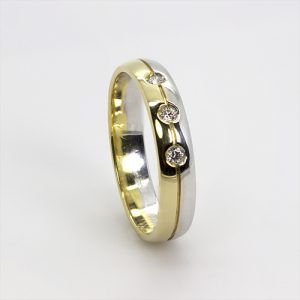 The Diamond Wedding Band