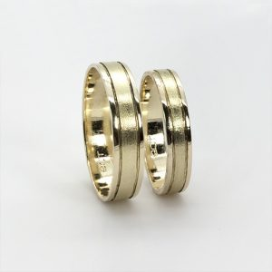 The Tsavo Gold Wedding Bands
