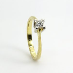 The Stunning Princess Diamond Engagement Ring
