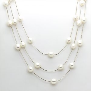 Perfect Bridal Wear Pearl Necklace