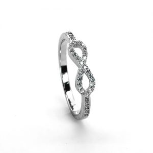 The Silver Eternity Ring