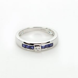Fine Silver Wedding Band
