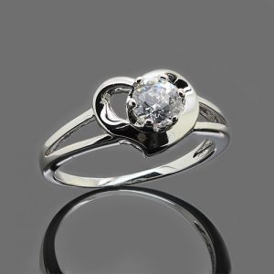 The Silver Heart Ring