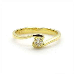 The Classic Twist Engagement Ring