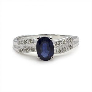 A Classic Sapphire Engagement Ring