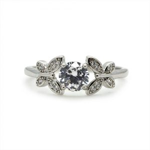 The Butterfly Silver Ring