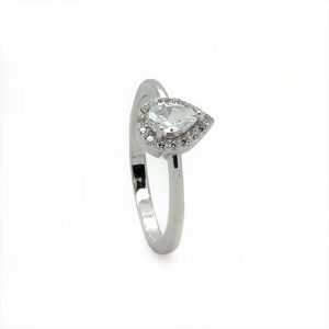 A Dainty Engagement Ring