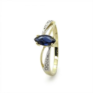 The Stunning Marquise Sapphire Ring