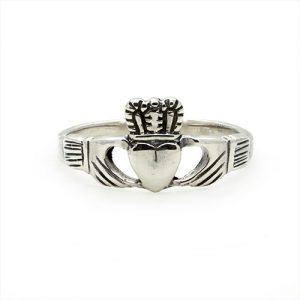 The Silver Claddagh Ring