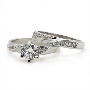 The Zircon Bridal Ring