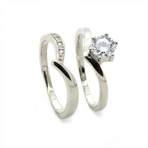 Stylish Bridal Set Ring