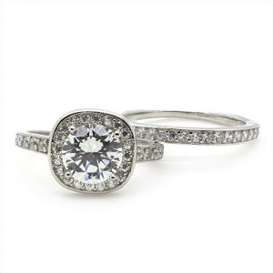 The Grand Bridal Zircon Rings
