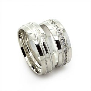The Classy Silver Wedding Bands