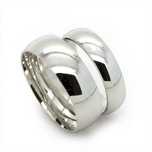 The Classic Silver Wedding Bands