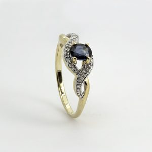 The Blue Gem Ring