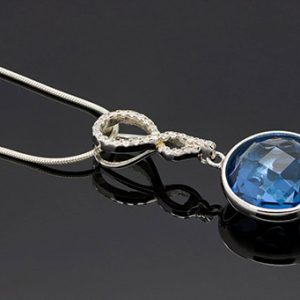 A Charming Blue Luxurious Necklace