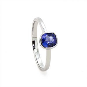 The Classic Tanzanite Ring