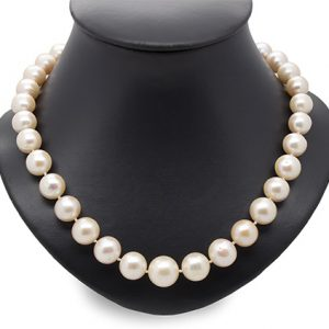 A Lustrous Pearl Necklace