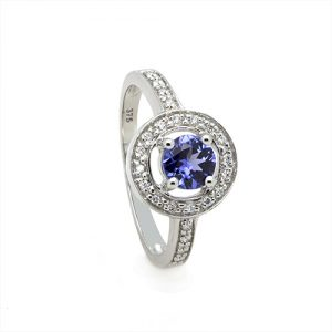 The Celestial Tanzanite Engagement Ring