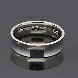 Custom Engrave your Rings